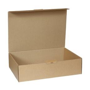 Krabica z trojvrstvového kartónu 305x215x80 mm, pre tlačoviny A4, hnedá