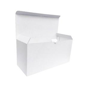 Krabica z trojvrstvového kartónu 390x164x190 mm, samosvorné dno a perforácia