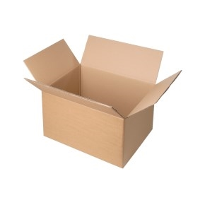 Krabica z trojvrstvového kartónu 394x294x180, klopová (0201)