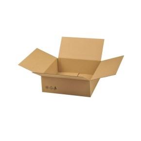 Krabica z trojvrstvového kartónu 394x394x138, klopová (0201)