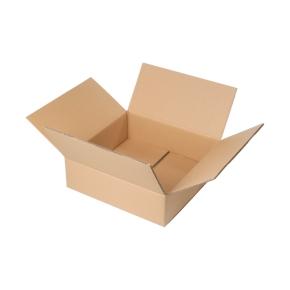 Krabica z trojvrstvového kartónu 394x394x88, klopová (0201)