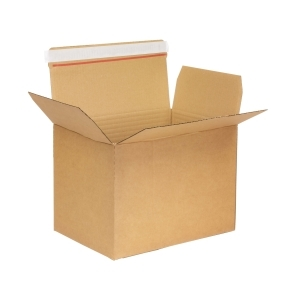 Krabica z trojvrstvového kartónu 445x315x300 mm, samolepiace klopy, A3 formát