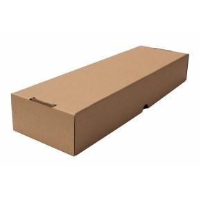 Krabica z trojvrstvového kartónu 528x170x90mm, dno + veko