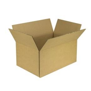 Krabica z trojvrstvového kartónu 545x362x257 mm, klopová (0201) KRAFT