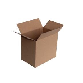 Krabice z trojvrstvového kartónu 215x145x195, klopová (0207) s mriežkou na 6 pozícií