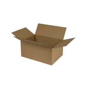 Krabice z trojvrstvového kartónu 266x191x127, klopová (0701)