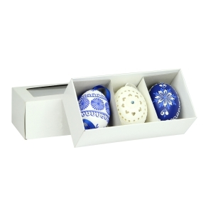 Krabička na 3 veľkonočné kraslice 142x74x50 mm