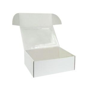 Krabička na 6 muffinov/cupcakes 250x180x95 mm biela s vložkou