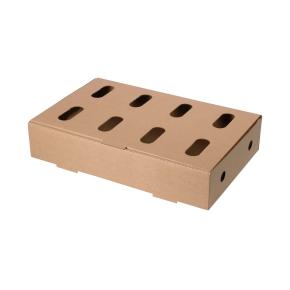 Kuracie kartón jednodielny 3VL KT211B 565 x 365 x 110 mm