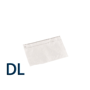 Obálka priehľadná samolepiaca DL, pre doklady formátu DL