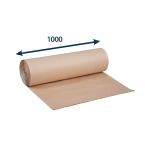 Papier baliaci - Rola - šedák š.1000, 90g/m2 rola po 10 kg