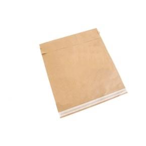 Papierová obálka zásielková 340x410 mm, samolepiace a odtrhávacie pásky, hnedá - kraft