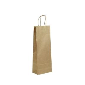 papierová taška 150x80x400mm na fľašu