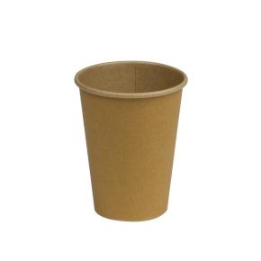 Papierový kelímok COFFEE TO GO 400 ml, priemer 90 mm, hnedý - kraft