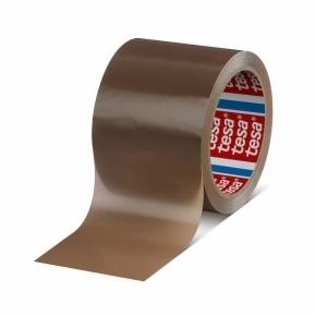 Páska samolepiaca PP 50x66 hnedá-hawana-bezhlučná, TESAPACK 4024