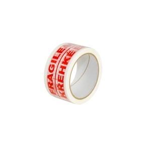 Páska samolepiaca PP 50x66 tlač FRAGILE/Křehké