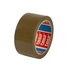 Páska samolepiace PP 48x66 hnedá-havana, TESAPACK 4263