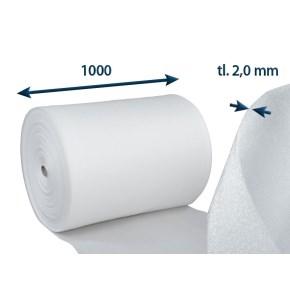 Penový polyetylén PE-rola, tl. 2mm š.100cm/návin 250m