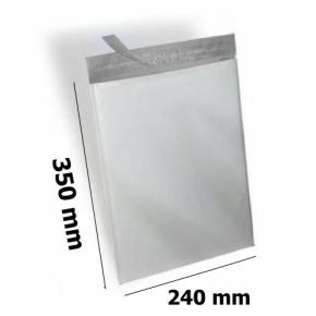 Plastová obálka nepriehľadná 240x350 mm