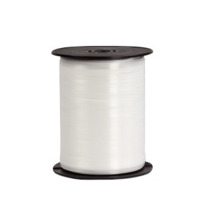 Plastová stuha biela, šírka 5 mm, dĺžka 500 m, PP