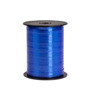 Plastová stuha tmavo modrá, šírka 5 mm, dĺžka 500 m, PP
