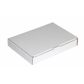 Poštová krabica 140x90x25mm, do schránok, biela