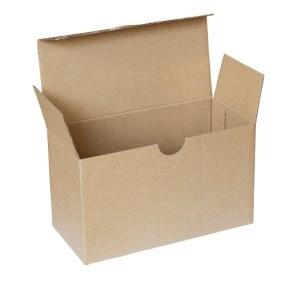 Poštová krabica 193x89x112 mm, 3VVL hnedá FEFCO 0713