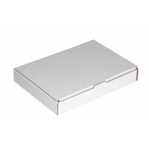 Poštová krabica 220x110x25 mm, do schránok, biela