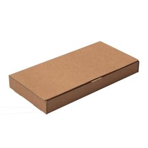 Poštová krabica 220x110x25mm, do schránok, hnedá