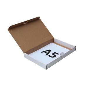 Poštová krabica 225x150x25 mm, do schránok, biela