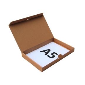 Poštová krabica 225x150x25 mm, do schránok, hnedá