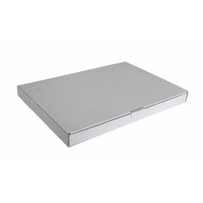 Poštová krabica 255x160x25 mm, do schránok, biela