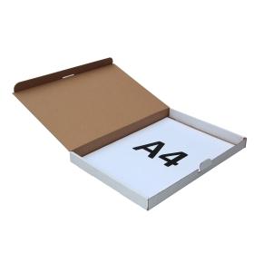 Poštová krabica 350x250x25mm, do schránok biela