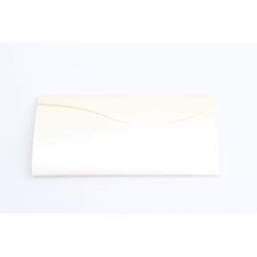Prebal na darčekové poukazy 220x110 mm, krémová perleť