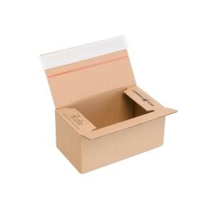 Rýchlouzatváracia krabica 3VVL 200x110x90 mm, lepiaca páska, kraft