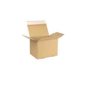 Rýchlouzatváracia krabica 3VVL 200x150x150 mm, lepiaca páska, kraft