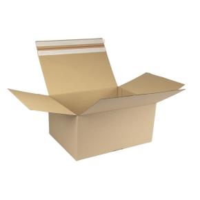 Rýchlouzatváracia krabica 3VVL 394x294x188 mm, samolepiaca klopa