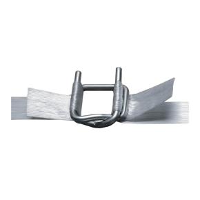 Spona viazacia pre polyesterovú pásku PES šírka 13mm, drôtená,pozinkovaná