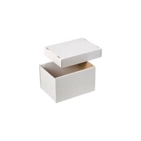 Úložná krabica dno + veko 203x143x125mm, BIELA