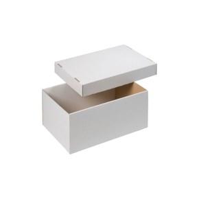 úložná krabica dno + veko 300x215x150 mm, BIELA