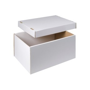 úložná krabica dno + veko 510x350x260 mm, BIELA