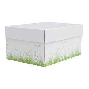 úložná krabica s vekom 250x250x150 mm, dekor 150006