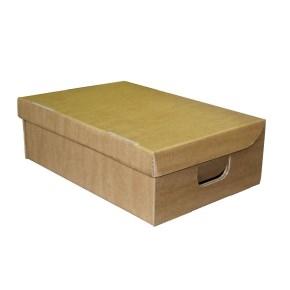 Úložná krabica s vekom 370 x 250 x 120 mm