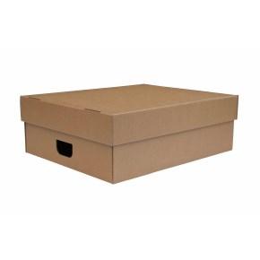 Úložná krabica s vekom 500 x 350 x 140 mm