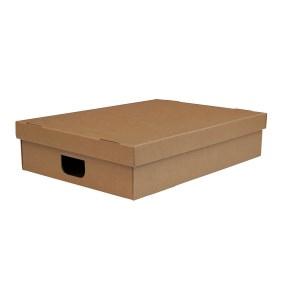 Úložná krabica s vekom 500 x 500 x 140 mm