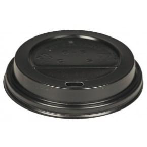 Viečko na kelímok COFFEE TO GO priemer 80 mm, čierne