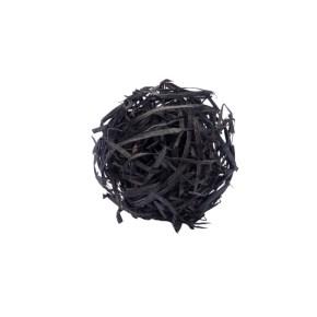 Vlna drevitá farebná, čierna 1 kg