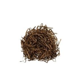 Vlna drevitá farebná, hnedá 1 kg