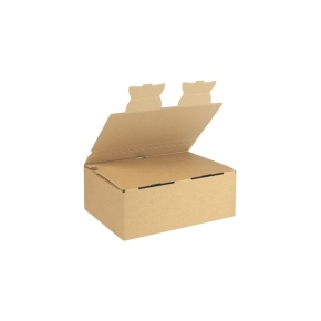 Zásielková krabica EKOBOX 3VVL 245x170x85 mm, hnedá