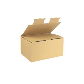 Zásielková krabica EKOBOX 3VVL 282x191x140 mm, hnedá